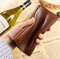 Whorf wallet male genuine leather long design male wallet multi card holder cowhide wallet commercial wallet