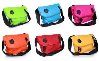 Devil the trend of reflective messenger bag school bag bicycle bag sports backpack bag