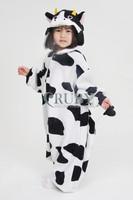 Unisex Children's Fashion Onesies Cosplay Costumes Animal Pajamas Christmas Gift For Kids Cartoon Cute Pyjamas Children,Cow