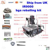 free shipping and free tax  IR9000 bga repair system,also have ir600 hot sales bga rework station,infrared bga rework machine