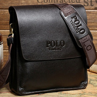 [Free Shipping] 2014 fashion men shoulder bag,men genuine leather messenger bag,business bag,free shipping 1M001