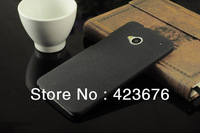 1pcs New high quality Matte texture Case for HTC One M7 Super texture Case cover free shipping