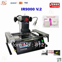 Free shipping made in china,IR9000 bga repair system,also have ir6000 bga rework station,infrared bga reballing machine