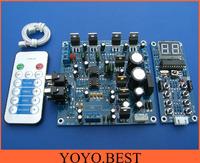 TDA2030A amplifier board kit 2.1 btl subwoofer amplifier with remote control