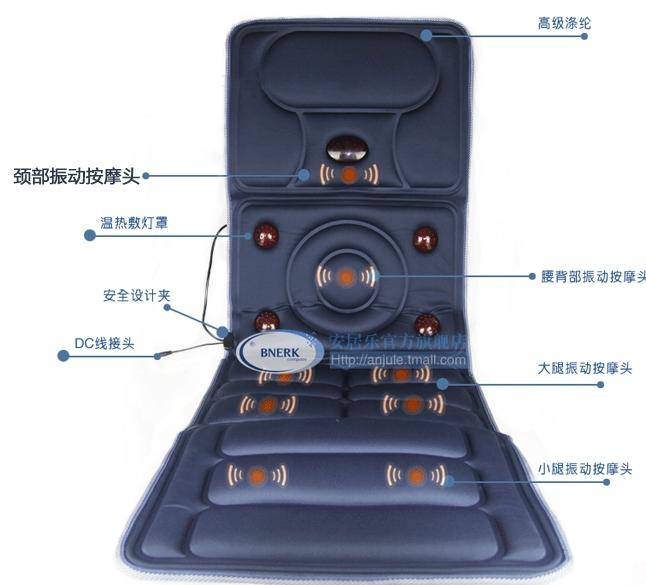 Achetez en gros matelas de massage shiatsu en ligne des grossistes matelas - Matelas massage electrique ...