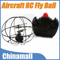 Funny 2 Channel 2CH Gyro 2.4G Remote Control UFO Aircraft Fly Ball Mini RC Helicopter Toy Free Shipping Drop Shipping