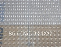 Free Shipping 300pcs/lot 3M SJ5302 bumpon clear rubber dots 7.9mmx2.2mm,hemisphere