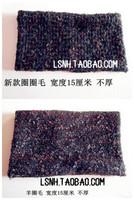 Fashion handmade black wool cotton hat turban elastic headbands crochet knit headband acessories for hair band bandana scarf