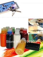Free shipping Airbrush Spray Gun Dual Action Airbrushing  makeup tattoo Kits 0.3 mm