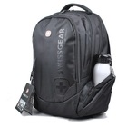 Swiss gear laptop backpack bag notebook bag 14 15 male women's backpack_free shipping(China (Mainland))