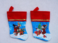 "6.5"" sublimation mini Christmas stocking"