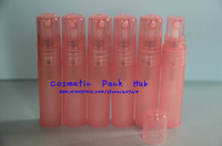 5ml frosted pink Perfume Pen Spray Bottle,Cosmetic Atomizer refillable packaging Bottles