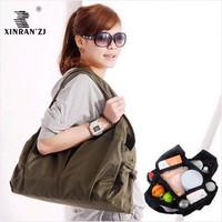 Free shipping multi-pocket Mummy bag versatile fashion leisure bag, waterproof bag, baby big bag / M15