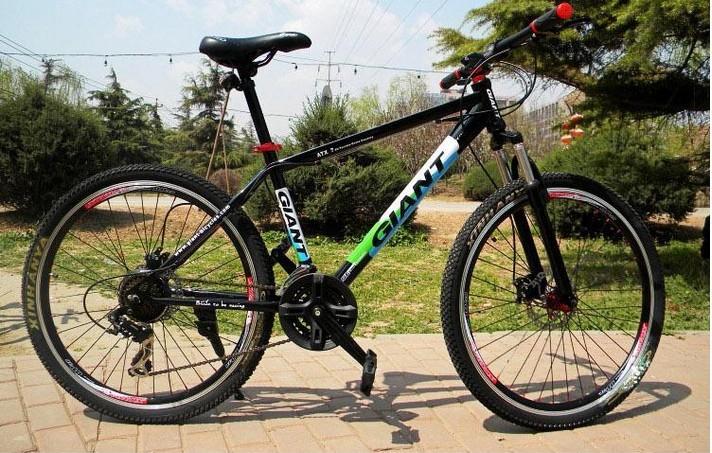 Giant mountain bike giant mountain bike variable speed mountain bike aluminum alloy atx7(China (Mainland))