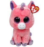 Free Shipping Original Ty Big Eyed Stuffed Animals Magic Plush Toys Pink Unicorn 15cm Cute Stuffed Toys for Children