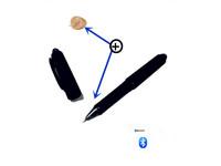 Classic bluetooth pen earphone mini earphone micro earphone  with long transmitting distance