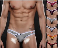 Free Shipping 1 Pcs Men's Boy's Super Sexy Underwear Briefs Shorts With Riser Vent Airholes  High quality