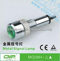 Factory supply TUV CE quanlity Automotive 12v 110v 220v led Signal Lamp, metal waterproof Pilot Lamp,anti-vandal indicator light