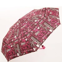 Super magic rain anti-uv three fold umbrella fashion british style folding umbrella sun umbrella