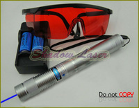 BX4-SC 1000mw-2000mw 450nm Adjustable Focus BURNING Blue Laser Pointer/Light cigarettes Pop balloons&firecrackers Fire toothpick