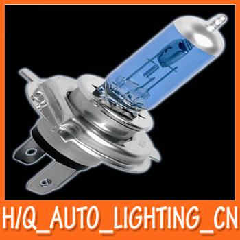 2pcs x New H4 12V 60/55W 6000K Xenon Halogen Low Beam Light Bulbs P43T Super White Free Shipping