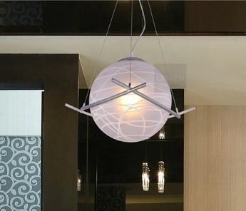 Free Shipping Dia25cm Glass Ball Pendant Light Parker Living room Pendant lamps restaurant lamp led pendant lamp 110V 220V