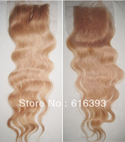 Free Shipping Cheap Brazilian Virgin Hair Lace Closure  Body Wave Swiss Lace With Baby Hair 100% Human Hair Lace Closures