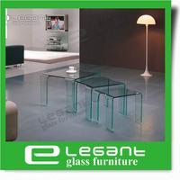 2013 Modern Furniture/Glass Nesting Table-CB004