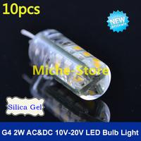 New Design G4 2W 24 SMD 3014 Led Bulb Lamp High Lumen AC/DC 10V-20V Non-polar Warm/Cool White Free Shipping 10pcs/lot