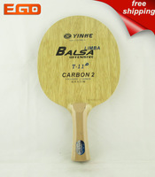 Free Shipping Galaxy/Yin He Table Tennis Ping Pong Blade with Carbon Fiber:T-11,Brand new.