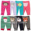 Free shipping 2013 Brand Carters 2pcs/set Baby clothing girl boy pants leggings cotton tracksuits sport thin pants wholesale(China (Mainland))