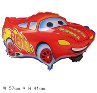 50pcs/bag wholesales cartoon car balloons , Helium foil balloons ,children toys,57X41cm