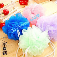 Retail Cute Colorful Bath Ball / Bath Flower Free Shipping--A407