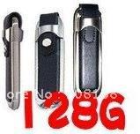 Wholesale - - - - Free shipping + 128GB eather Flash Memory Pen Stick Thumb Drive USB 2.0@1