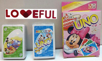 New Free Shipping Loveful Carton UNO Card Game Playing Card Family Fun ---Mickey Mouse