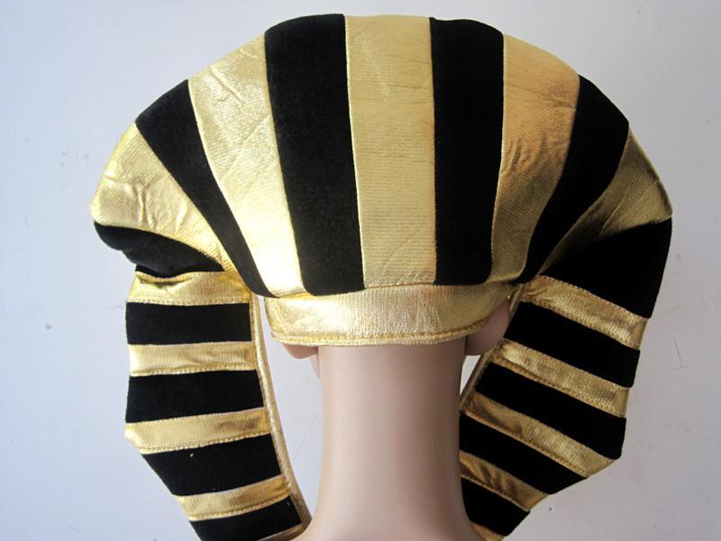 Free shipping Indian feather headdress hat Egyptian pharaoh hat(China (Mainland))