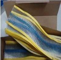 Free Shipping 200PCS 1/4W Watt 100 ohm 100R Metal Film Resistor 0.25W 1% ROHS