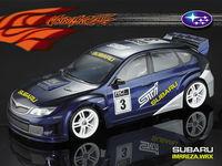Stm-racing SUBARU IMRREZA WRX 10  PC BODY SHELL   PC201006  1:10 eletronic touring car  190mm