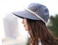 Hot!! Sun Hats for Women Caps Women Fashion 2014 Cotton Polyester Material Made Very Cool
