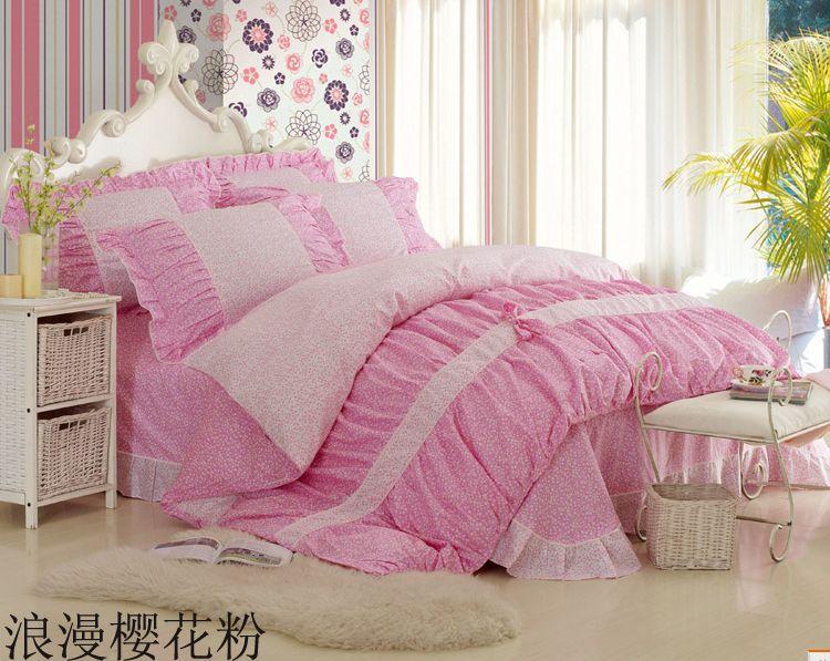 30 types lovely kids bedding set Korean reactive printing princess bedding set king queen size/bedspread/duvet cover(China (Mainland))