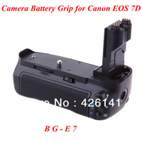 1 piece of BG-E7 BGE7 Battery Grip for Canon EOS 7D DSLR Camera Free Shippin
