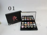 1 pcs  Fashion 2014 New Arrival MC brand profession RiRi  makeup Basics Palette 32 Colors powder Eyeshadow 32g free shipping
