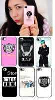 (free shipping CPAM) Stars in South Korea bigbang TVXQ EXO FT  SJ  B1A4  BAP Case Cover for iPhone 4 4G 4S  more style