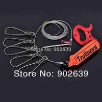 Trulinoya 5 Metres 5 Locks Stainless Steel Chain Stringer with Float