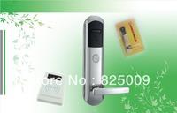 digital sensor card hotel digital hotel lock with low alarming function and mechanical key