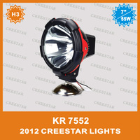 "55W 7""Spot beam  Flood beam 12V/9-32V 4300Lm HID Driving light,Auto Hid driving, HID offroad 4x4, car hid headlight ,boat KR7552"