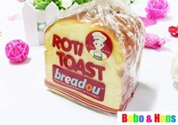 New cute breadou toast bread squishy toy / Mobile Phone Holders & Stands / Wholesale