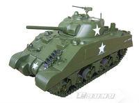 Freeshing RC model ET601R Electric Tanks 1/6 M4 Sherman Tank 2.4G 6 Channels  EP - RTR