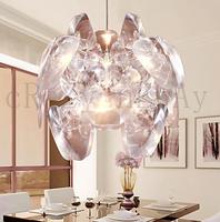 free  shipping 60L*70W*110H cm 1-light Artistic Acryl Pendant Light  Magic Apple chandelier  Transparent shade