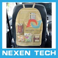 Car Back Seat Tidy Organiser Auto Travel Storage Bag Multi Pocket Holder Pouch Rear Seat Car Bag Organiser Storage